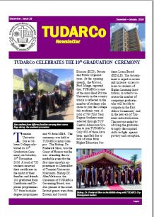 TUDARCo Newsletter Issue 16 December 2016